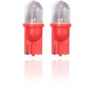 Röd Glassockellampor 10mm
