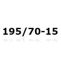 Snökedjor till 195/70-15