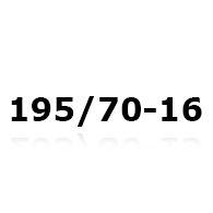 Snökedjor till 195/70-16