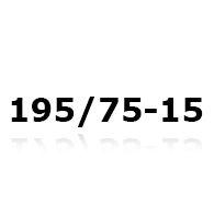 Snökedjor till 195/75-15