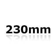Vindrutetorkare 23cm