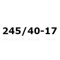 Snökedjor till 245/40-17