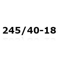 Snökedjor till 245/40-18