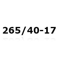 Snökedjor till 265/40-17