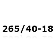 Snökedjor till 265/40-18