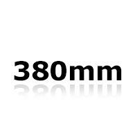 Vindrutetorkare 38cm