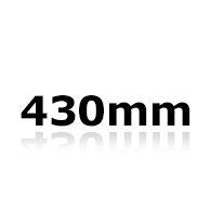 Vindrutetorkare 43cm