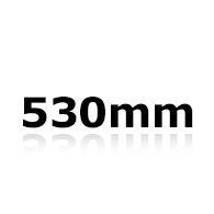Vindrutetorkare 53cm