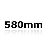 Vindrutetorkare 58cm