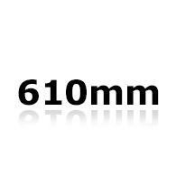 Vindrutetorkare 61cm