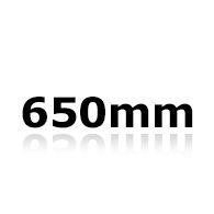 Vindrutetorkare 65cm