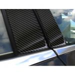 B-Pillars covers Mercedes-Benz A-Class W176 2015- Black Carbon