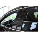 B-Pillars covers Mazda 6 Sedan/Wagon 2013- Black Carbon